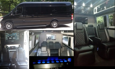 Executive sprinter rental 1 van rental in los angeles lax for Mercedes benz sprinter rental nyc