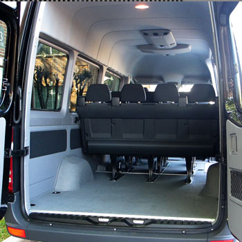 SPRINTER RENTAL Los Angeles, 12 passenger - 24 Hour Rental ...